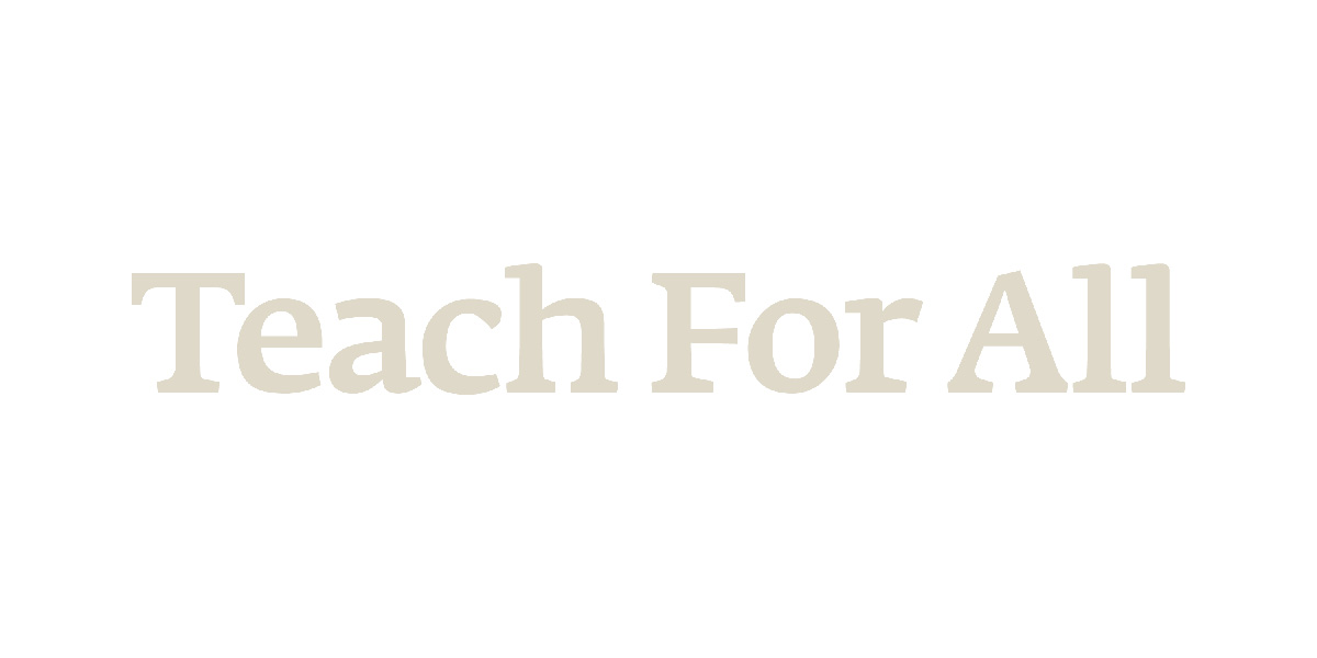 Teach For All | Expanding Educational Opportunity
