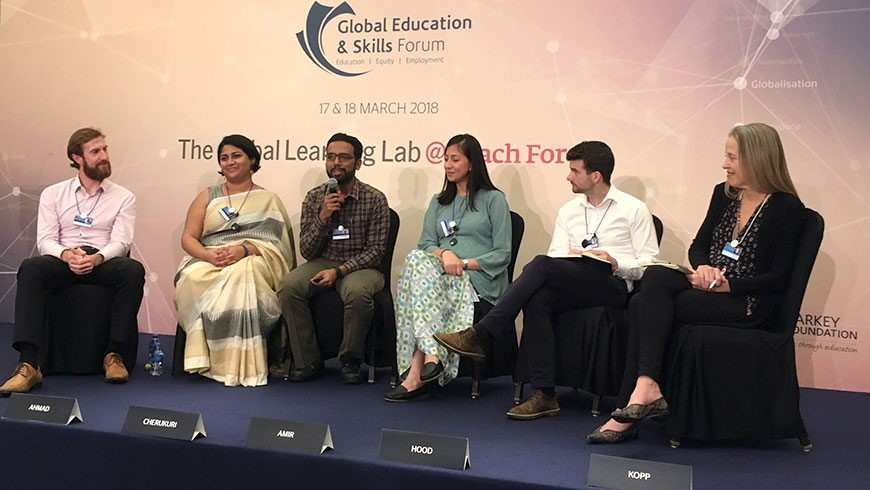 Teach For All Participates in 2018 Global Education and Skills Forum